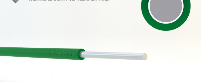 PVC Kaplı Tel